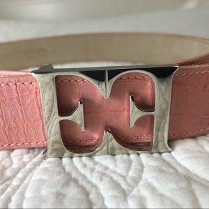 Pink Escada belt